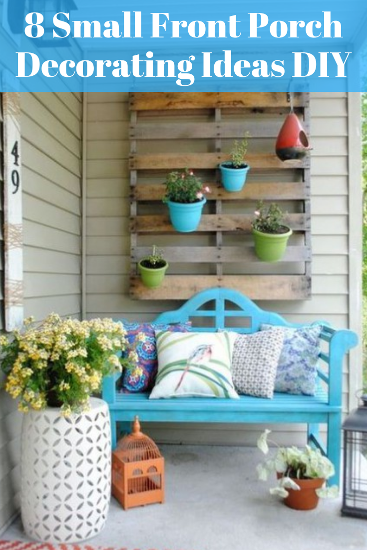 This article about small front porch decorating ideas DIY. You can