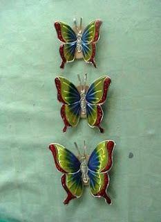 Repujado mariposas   Carolina Valencia Huiza