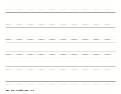 graphic relating to Free Printable Kindergarten Writing Paper named Down load this absolutely free handwriting paper in just PDF layout