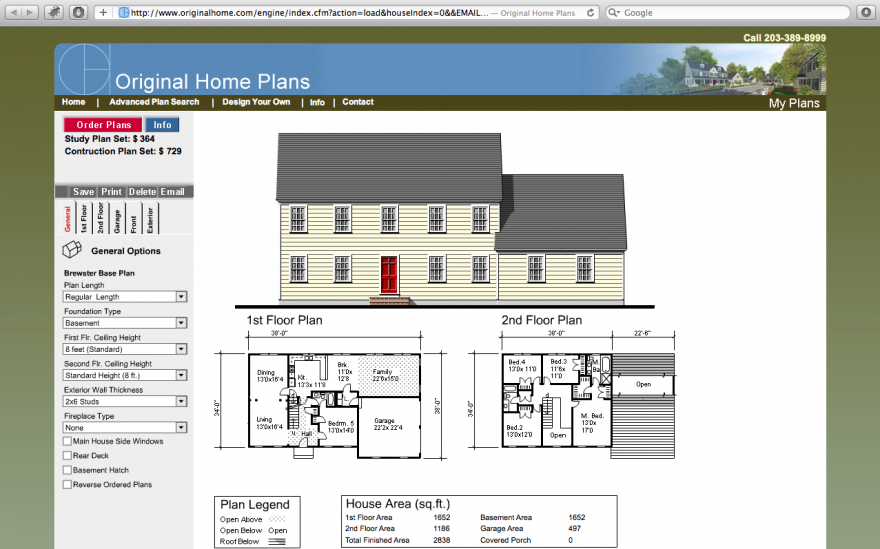 Original Home Plans Configurator Database House In The Woods House Plans How To Plan