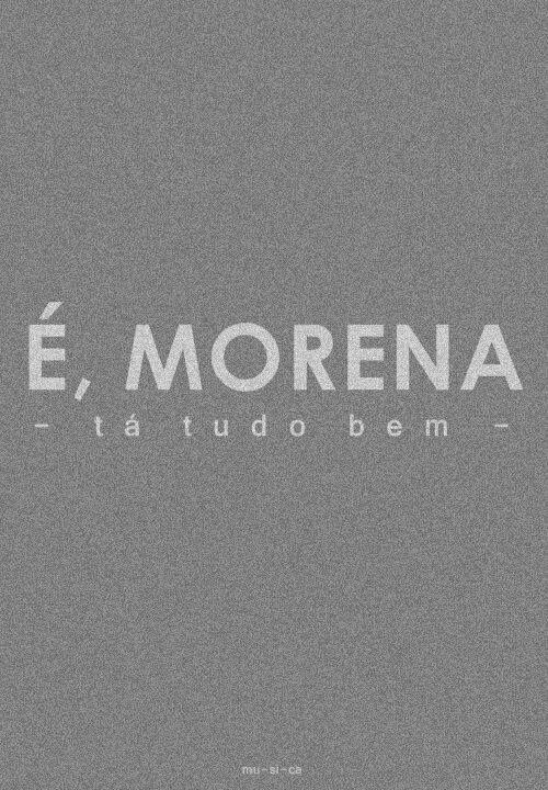 Morena Los Hermanos Com Imagens Morenas Musica