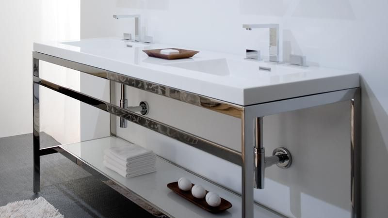 C60 60 Bathroom Console The C Collection Wetstyle Double