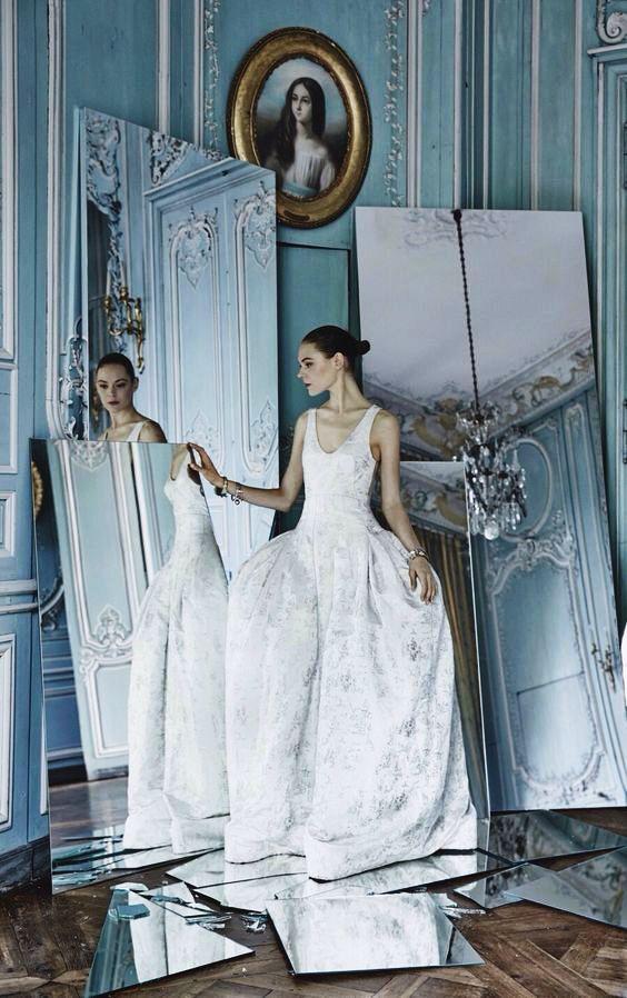 Patrick Demarchelier for Dior.