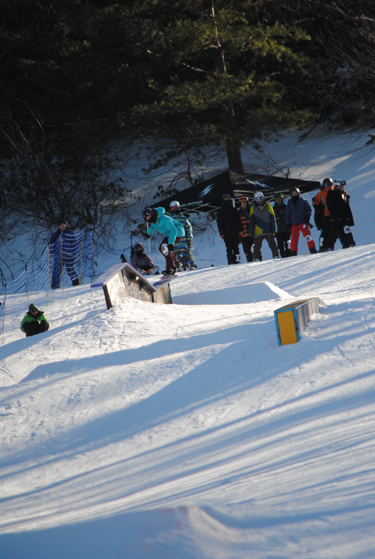 The Neon Terrain Park at Camelback Mountain Resort! #ski ...