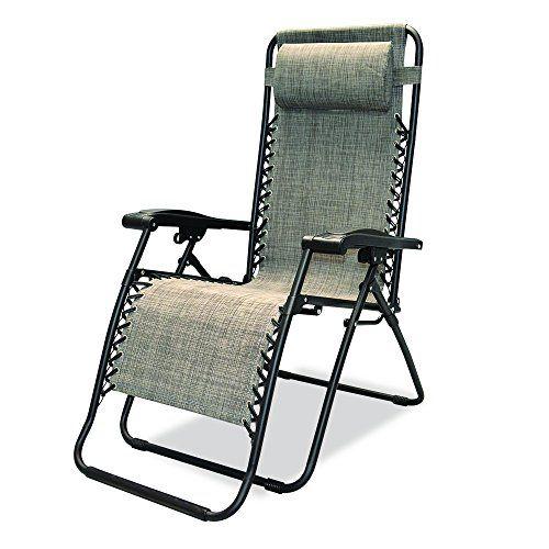 Caravan Sports Infinity Zero Gravity Chair, Grey Caravan