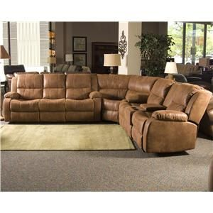 Fireside 3 Piece Sectional Reclining Sofa By Klaussner International Knoxville Wholesale Furnitur Furniture Reclining Sectional Wholesale Furniture