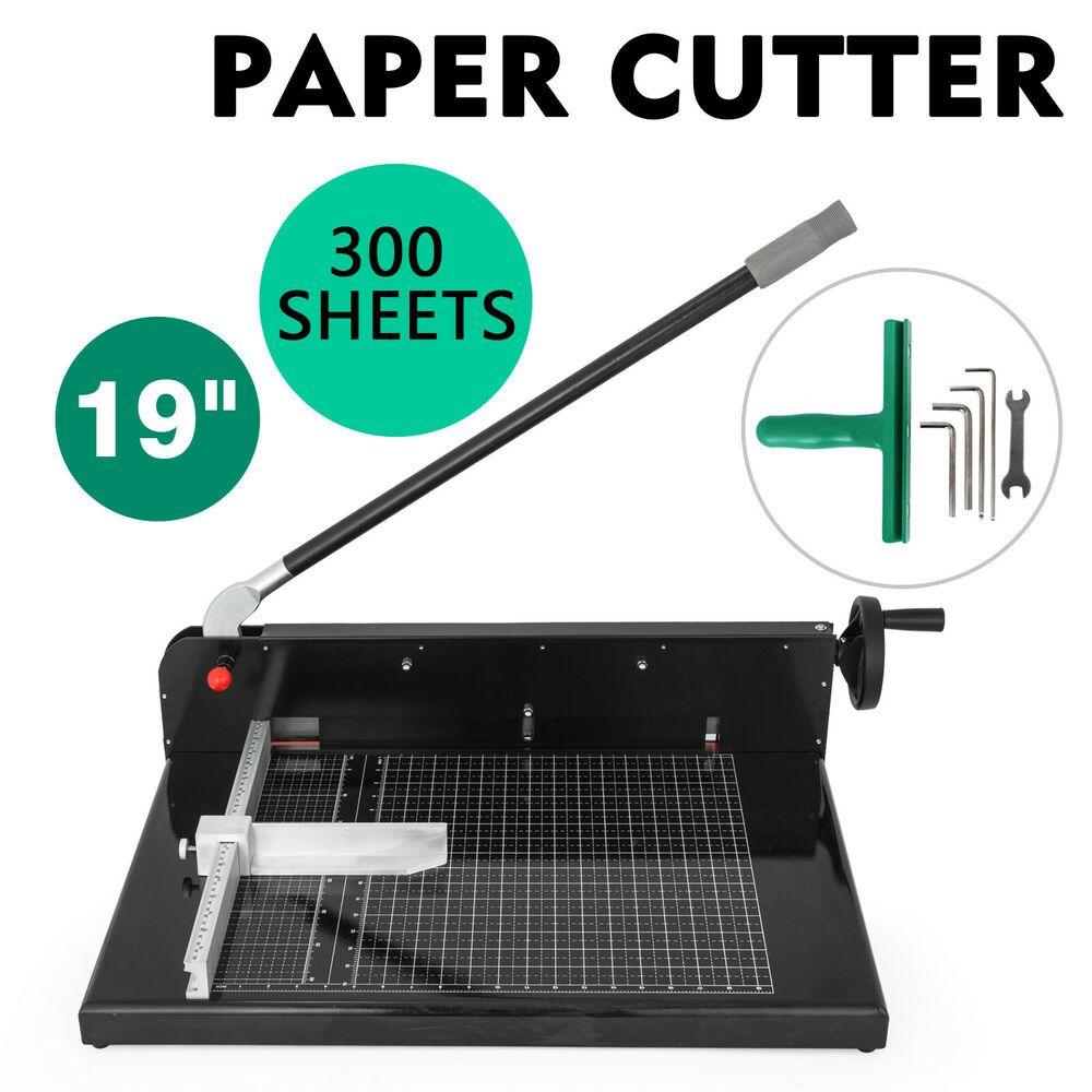 Ebay Sponsored 19 Width Guillotine Paper Cutter Heavy Duty