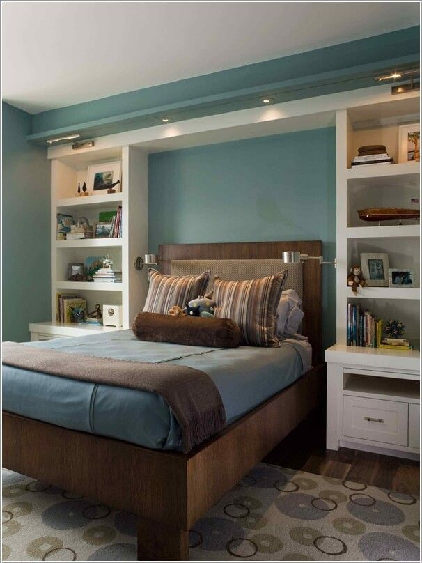 10 Practical Built-In Furniture Ideas For Your Kids Room | Small Master Bedroom, Master Bedroom Interior Design, Master Bedroom Interior