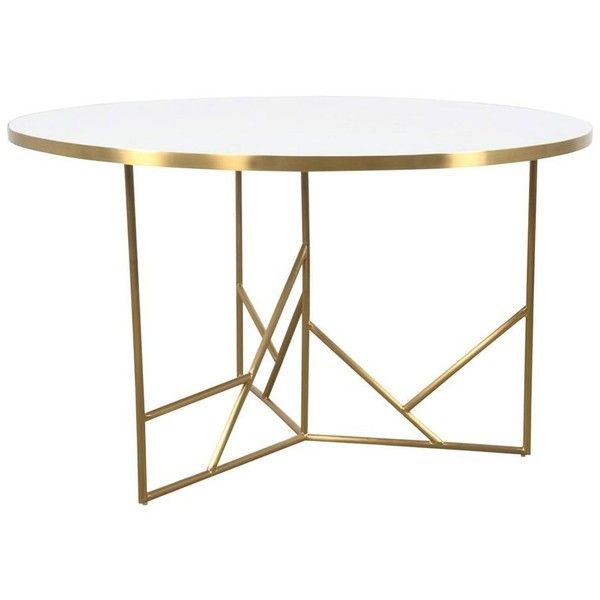 Modern Midcentury Dining Table White Concrete Top And Geometric - Oval concrete dining table