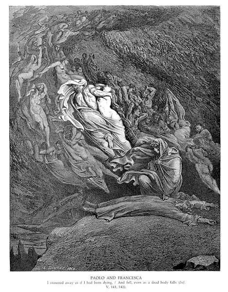 Gustave Dore - Paolo and Francesca