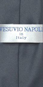 712ea83ec8a1 Brand New Solid Color Vesuvio Napoli Collection Boy's CLIP-ON Neck Tie This  listing is