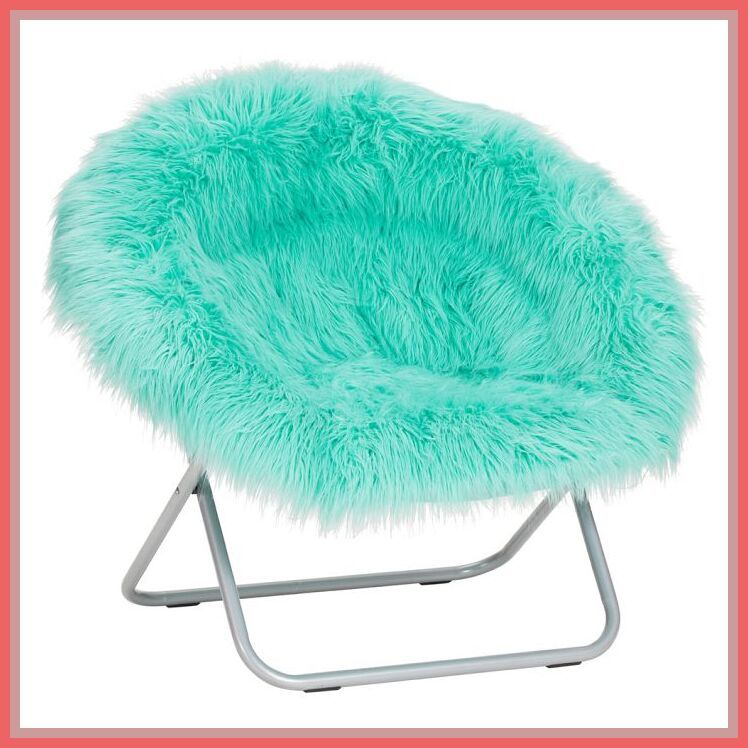61 Reference Of Office Chair Fluffy In 2020 Round Chair Teal Chair Chair