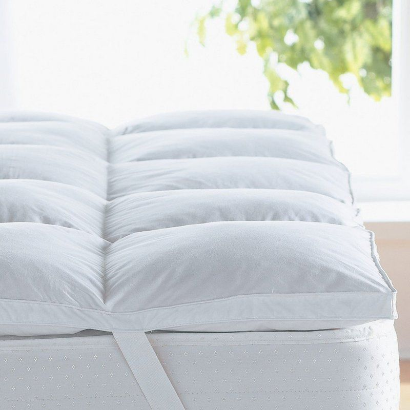 Alwyn Home Gerstner Thick Hypoallergenic 2 Down Alternative Bed Mattress Topper Wayfair Best Mattress Mattress Feather Mattress