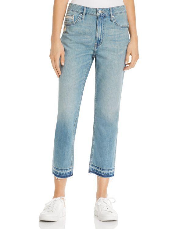 e09c45c1 Calvin Klein Jeans Released Hem Boyfriend Jeans in Ocean Mist   Products