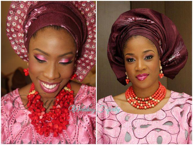 Aso Oke And Lace Attires For Yoruba Traditional Weddings