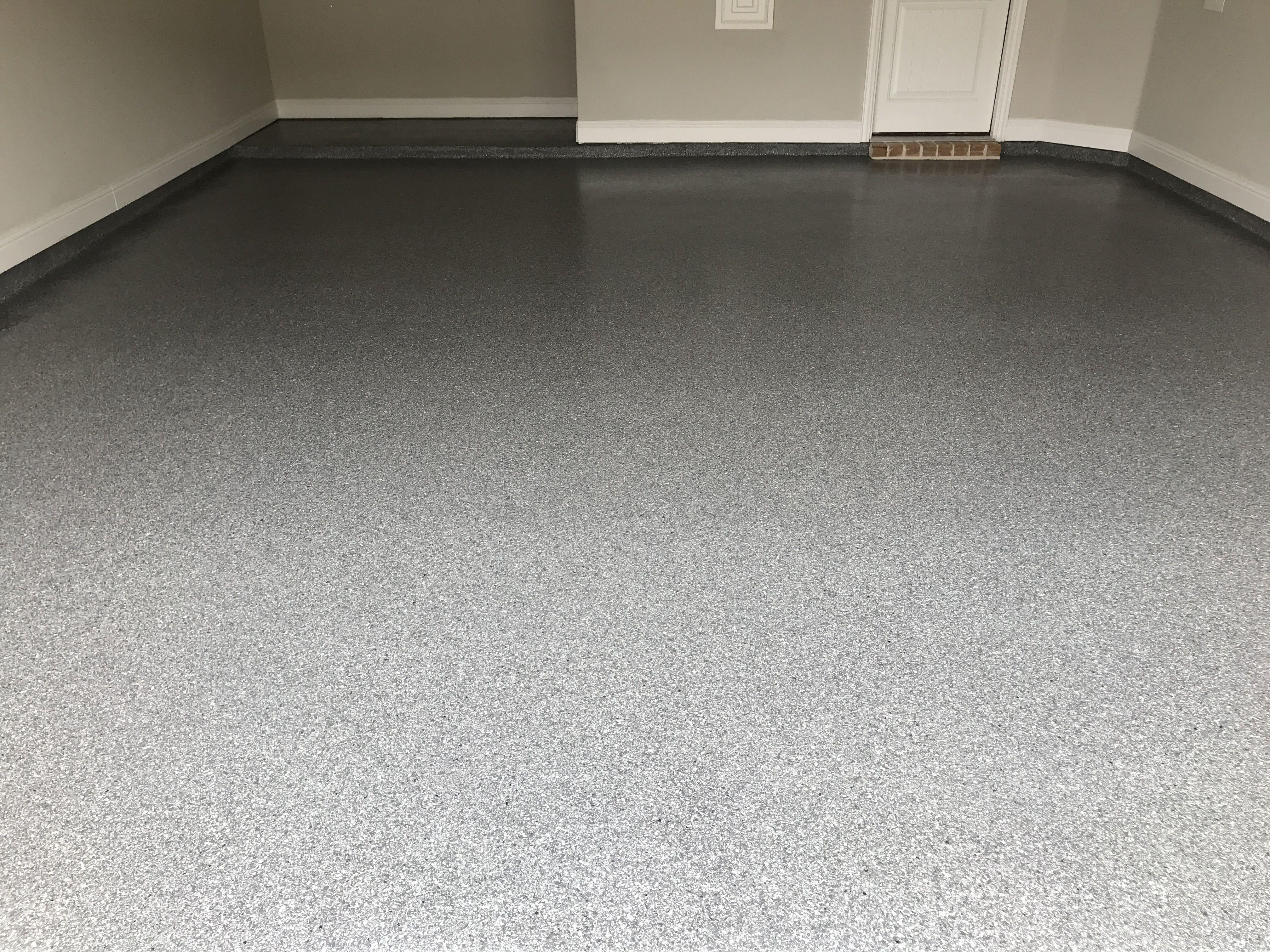 Classic Finish Custom Color Garage Floor In Allen Epoxy Garage Floor Contractor Allen Garage Floor Garage Floor Epoxy Flooring Contractor