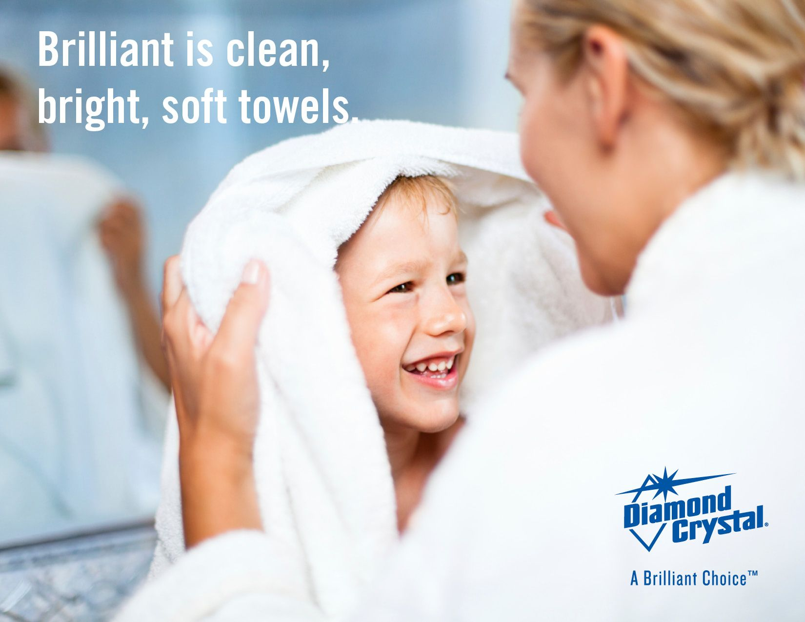 Help Your Towels Stay Clean Bright And Soft By Using Diamond Crystal Water Softener Salt Diamondcrystalsalt Water Softener Salt Water Softener Soft Towels