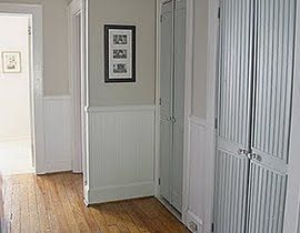 Refurb Bifold Doors This Wouldn T Work On My Double Hung Bifolds But What About The Closet By The Gara French Closet Doors Bifold Doors Bifold Doors Makeover