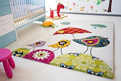 Kinder Teppich Vogel Theo Little Carpet Kinderteppich