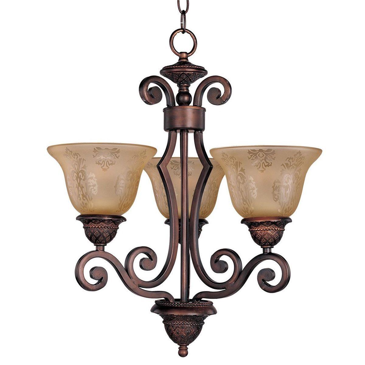 Maxim Lighting Elegant 6 Light Oil Rubbed Bronze Chandelier