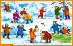 praatplaat winter kleuters #winterkleuters