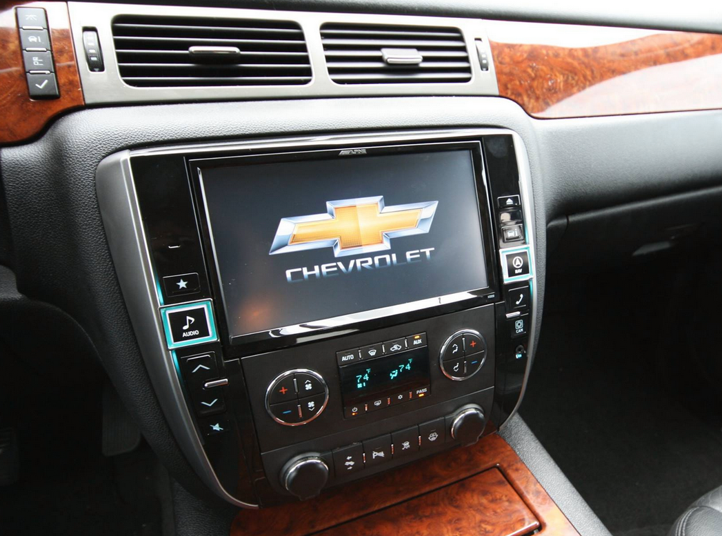 This is happening alpine x009 gm nav system for - Chevy truck interior accessories ...