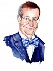 4th President of Estonia Toomas Hendrik Ilves caricature