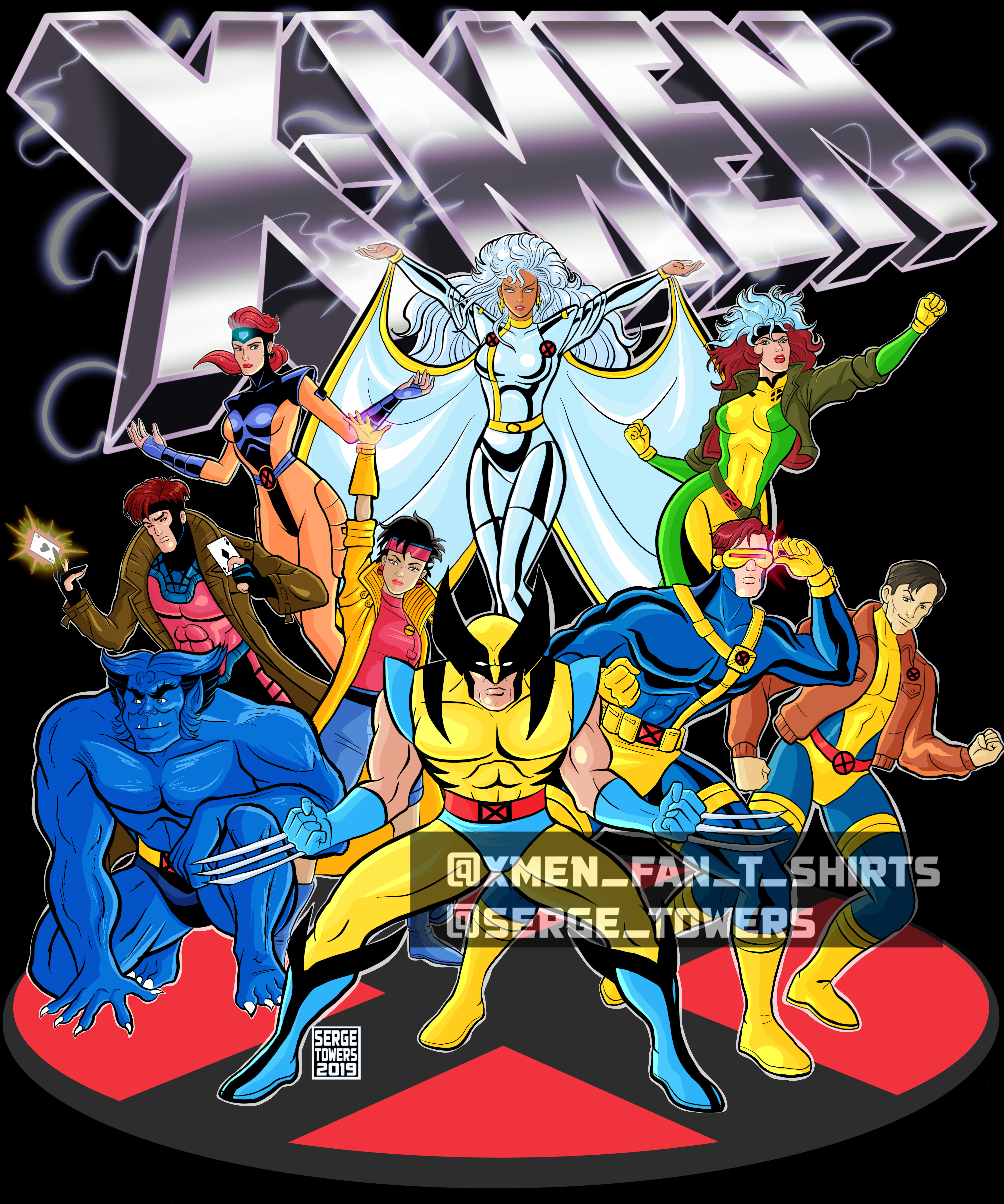 X Men Animated Series In 2020 X Men Batman The Animated Series Animation