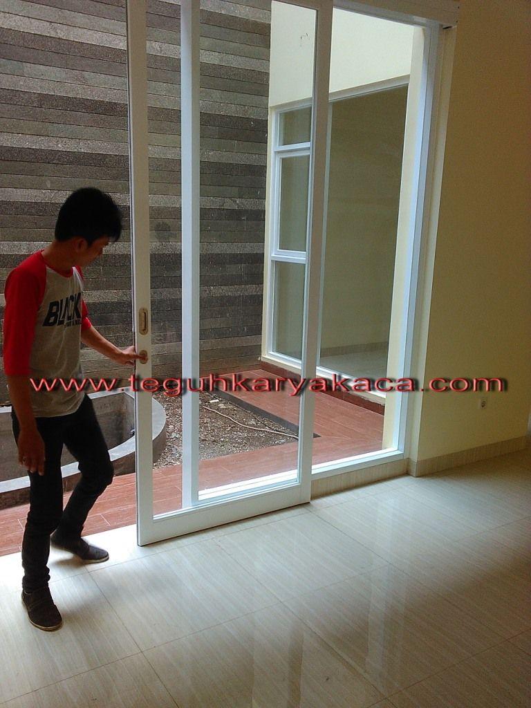 Pintu Alumunium Geser Pintu Kaca Ide Dekorasi Rumah Desain