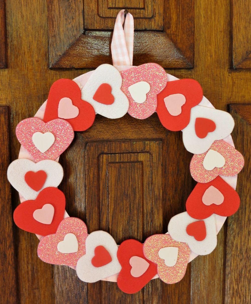 Simply sweet valentine wreath wreaths cupid and craft simply sweet valentine wreath rubansaba
