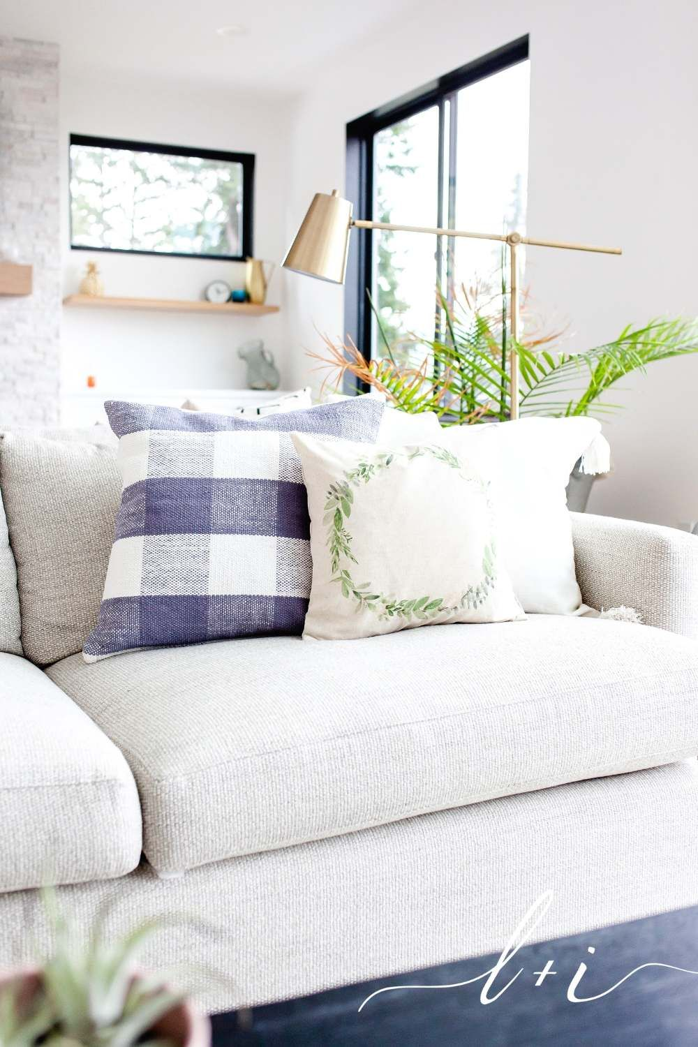 Handcrafted pillows are the perfect touch to make your
