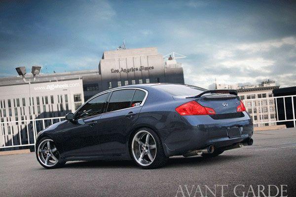 Infiniti G37 Sedan With Avant Garde Ag5 Wheels Here Http Www Modbargains