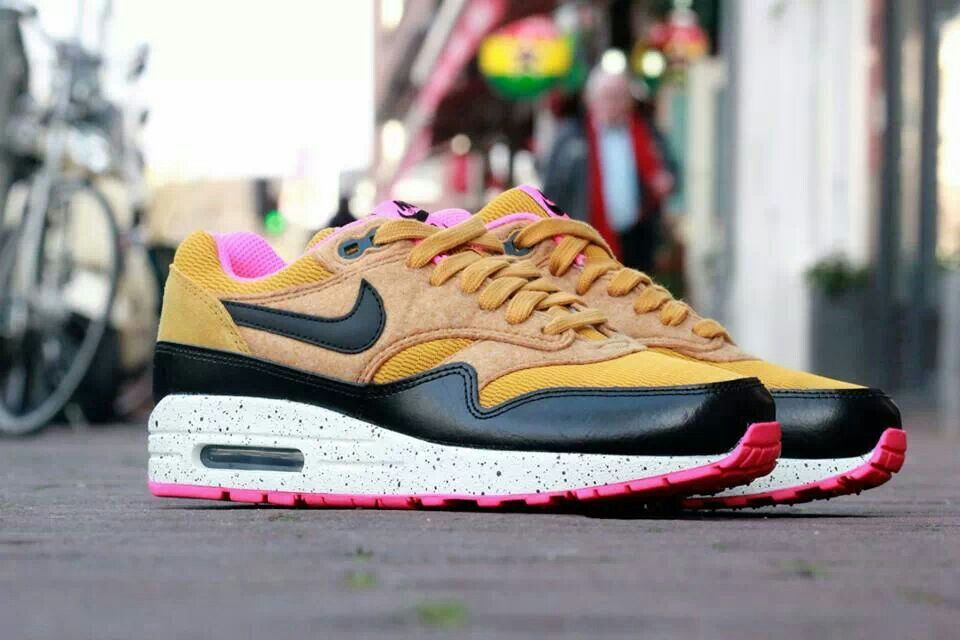 nike air max 1 roze suede
