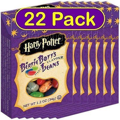 Jelly Beans 166723: 22 Pack Harry Potter Bertie Botts Beans 1.2Oz ~ Jelly Belly ~ Bott S Candy -> BUY IT NOW ONLY: $50.53 on eBay!