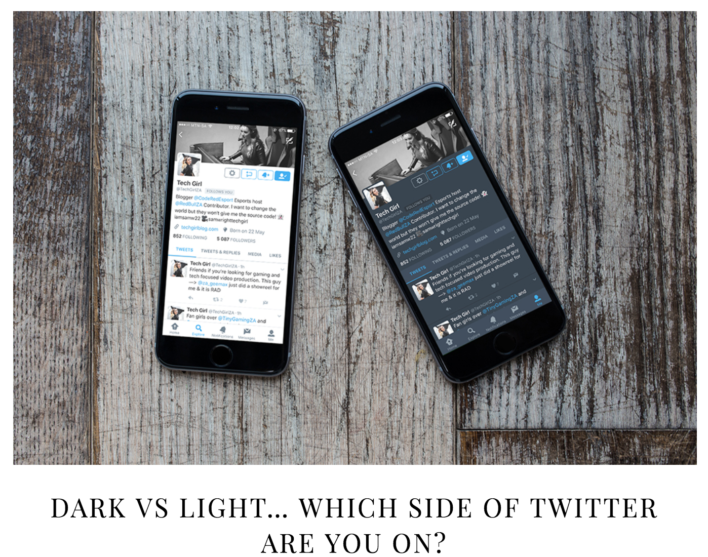 Dark VS Light… Which Side Of Twitter Are You On   My Tech