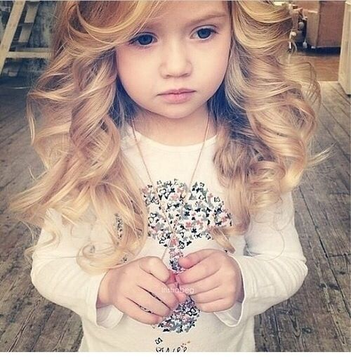 This Years Old Girl Already Has Better Hair Than I Will - Hairstyle for 3 year girl