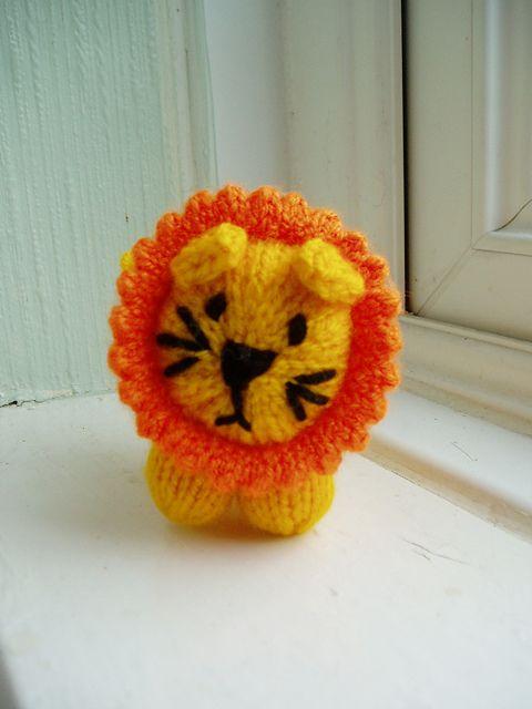 Mini Lion Free Knitting Pattern Pdf Version Click Download Or