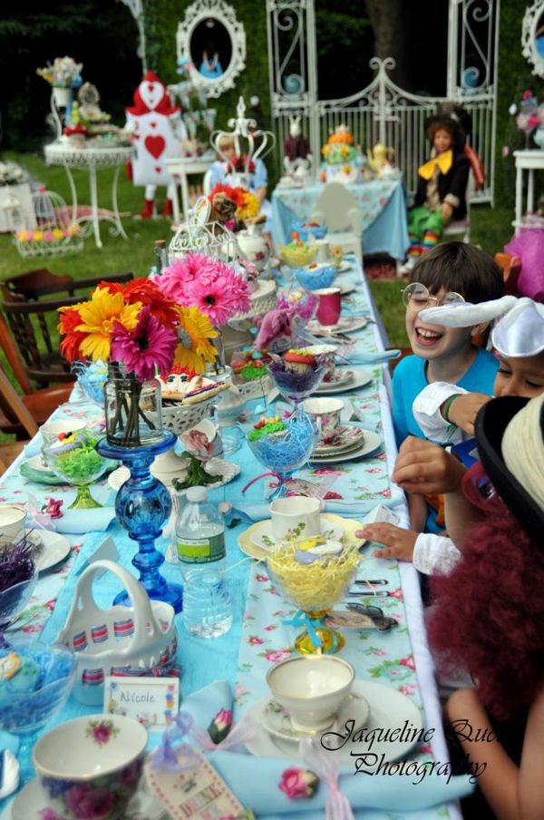 alice in wonderland party ideas Bing