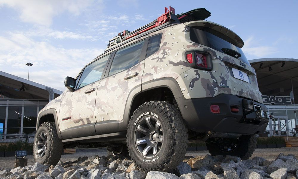 Jeep Renegade Off Road Concept Jeep Renegade Jeep Fuoristrada