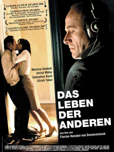 Das Leben Der Anderen The Lives Of Others Excellent German Film