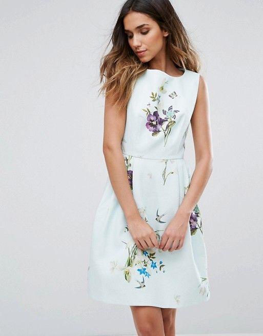 Discover Fashion Online Ted Baker Dress Floral Dresses Skater Dress