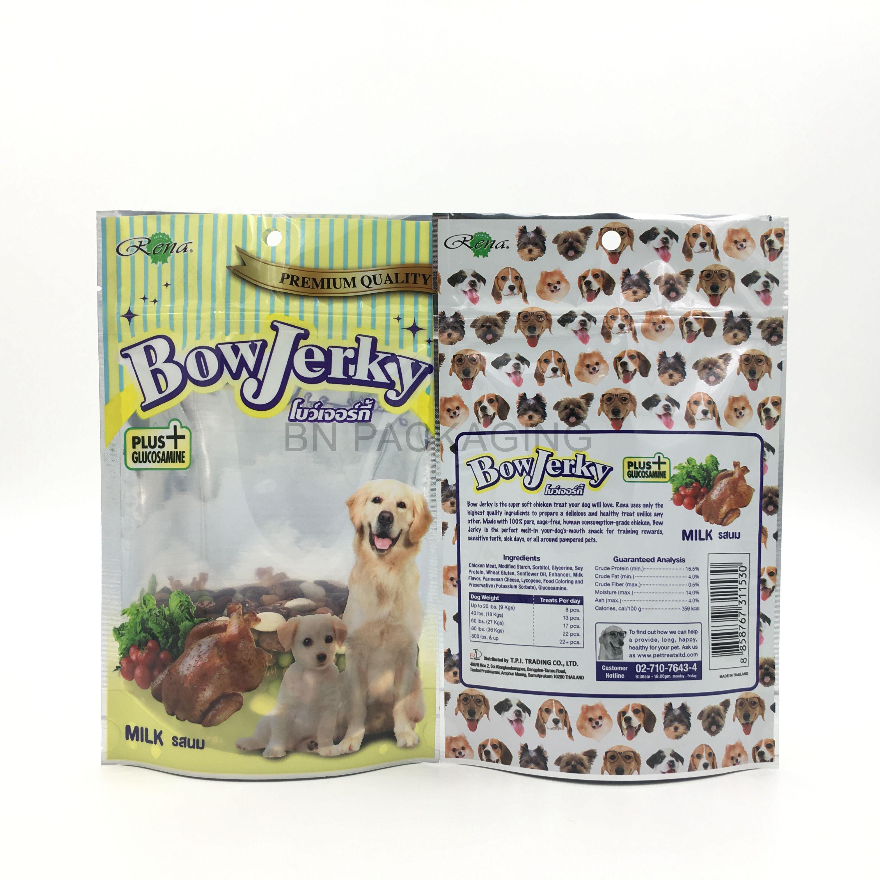 Jerky Packaging Pet Food Packaging Dog Snacks Food Animals