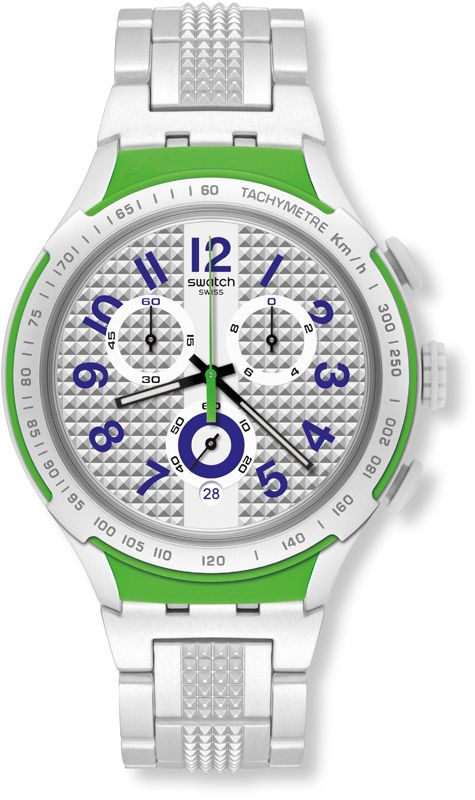 Swatch YYS4012AG watch - Electric Ride