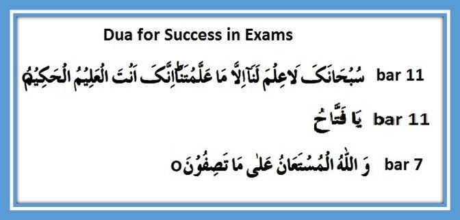 Surah For Success In Exams