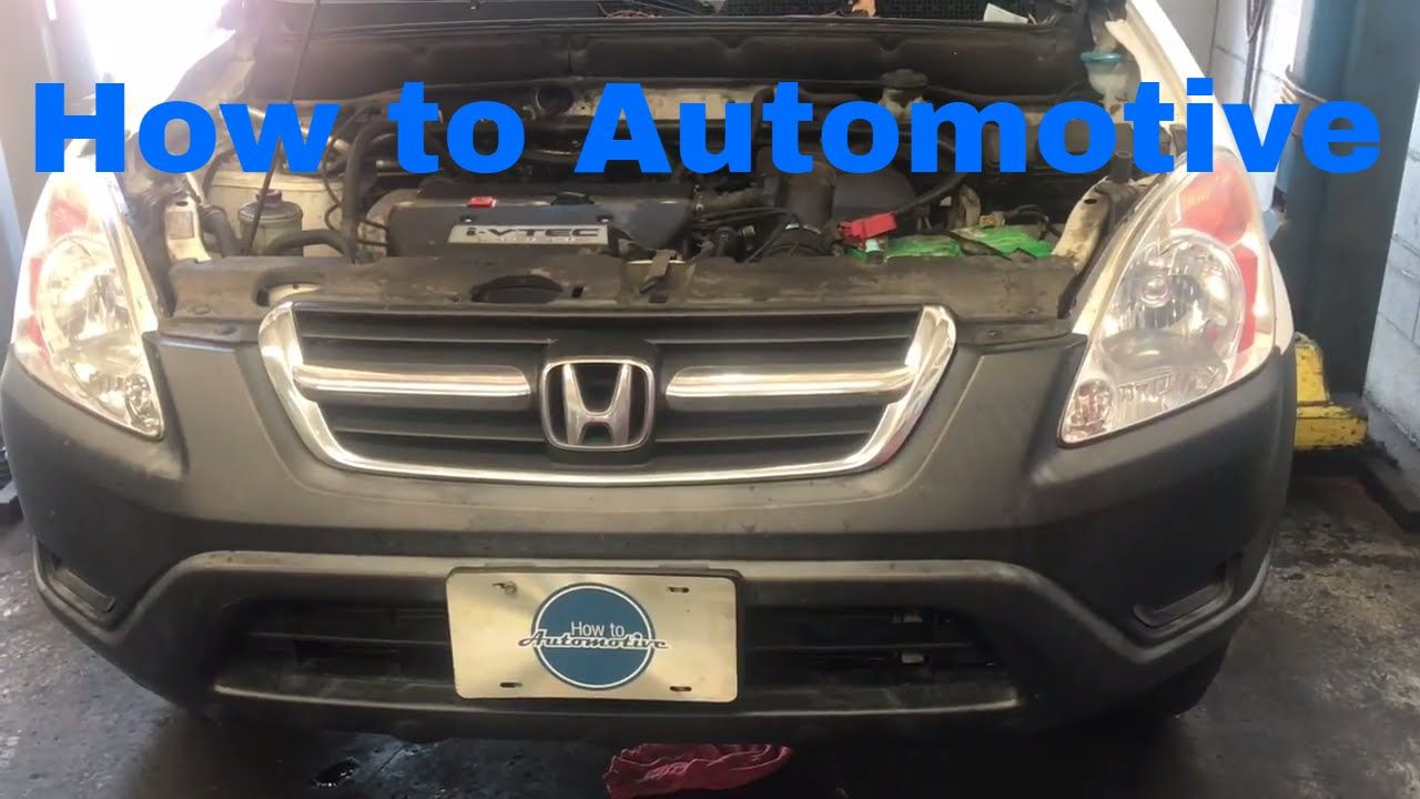 How To Replace The Valve Cover Gasket On A 2002 2006 Honda Cr V
