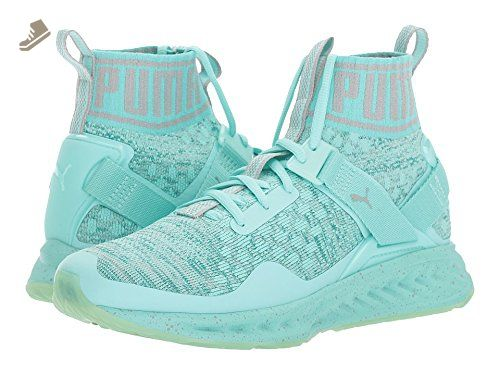 Puma Womens Ignite Evoknit Easter Running Shoes - Aruba Blue-Quarry Size  5.5 - Puma sneakers for women ( Amazon Partner-Link) b6bed4f2f