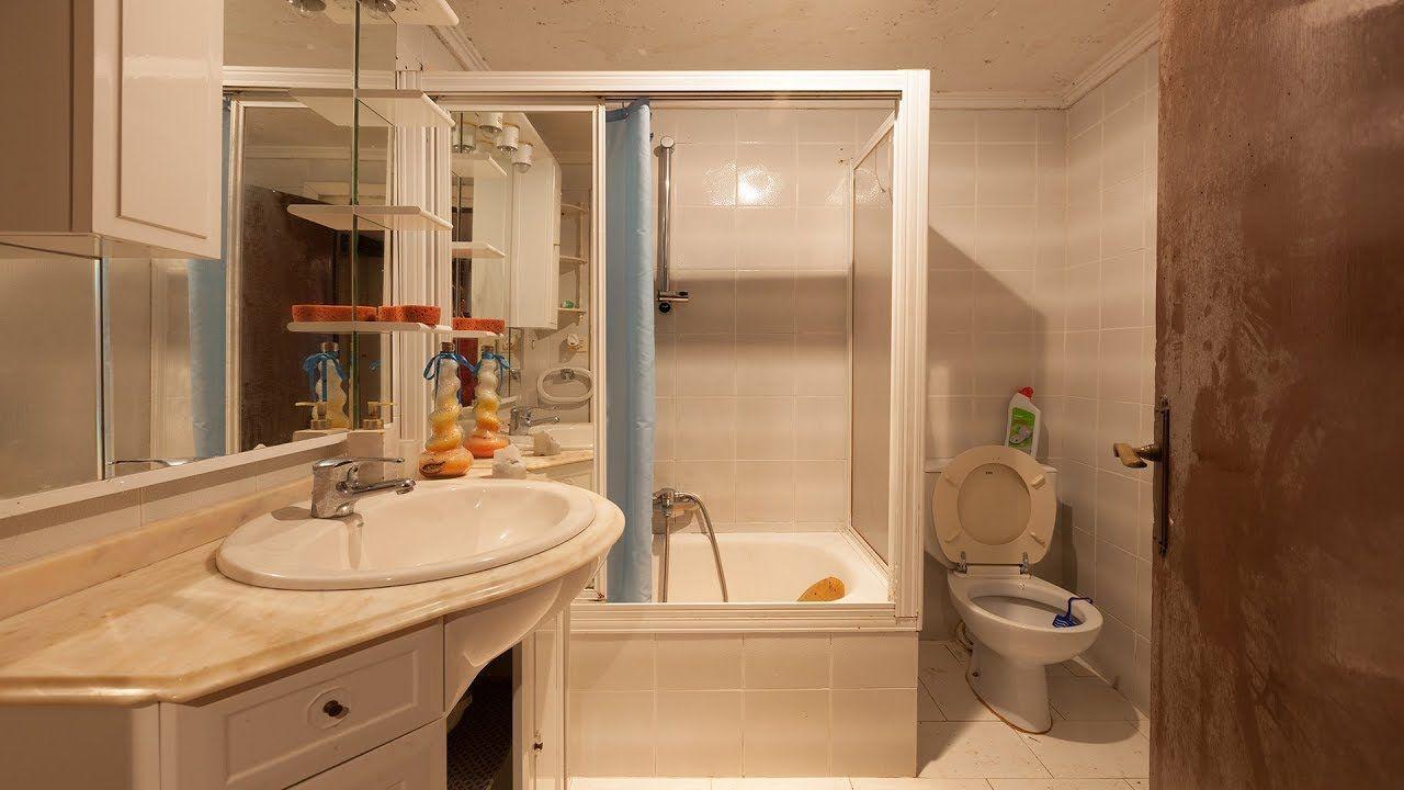 Cuarto de baño tricolor en gris -   Cuarto de baño ...