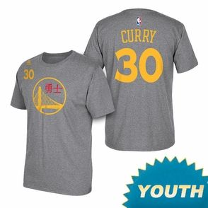 promo code 3e0e7 eac55 Golden State Warriors adidas Youth Chinese New Year Stephen ...