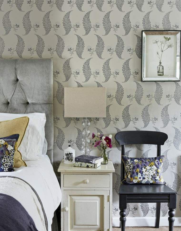 Idée papier peint chambre comment faire le bon choix? - papier peint pour chambre a coucher