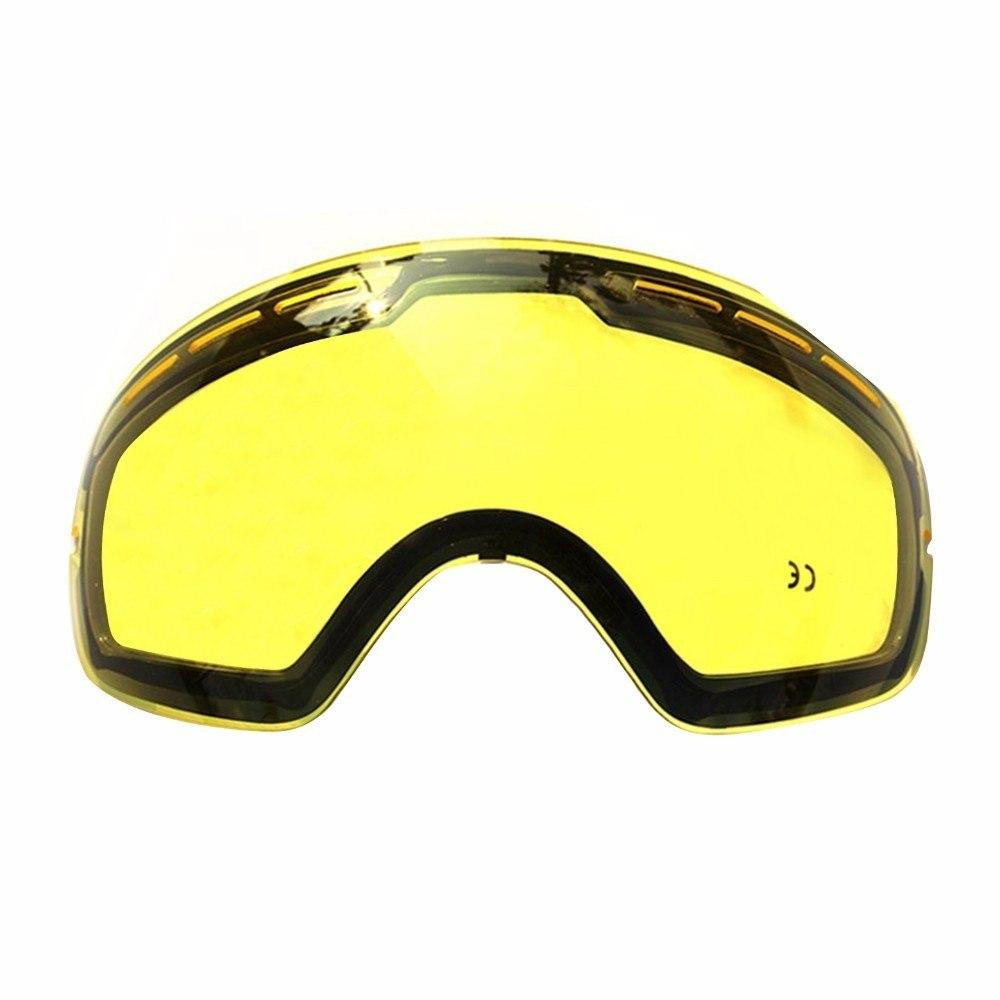 34aa352fb171 COPOZZ Ski Goggles Double Layers UV400 Anti-fog Big Ski Mask Glasses Skiing  Men Women Professional Snow Eyewear GOG-201 Lens